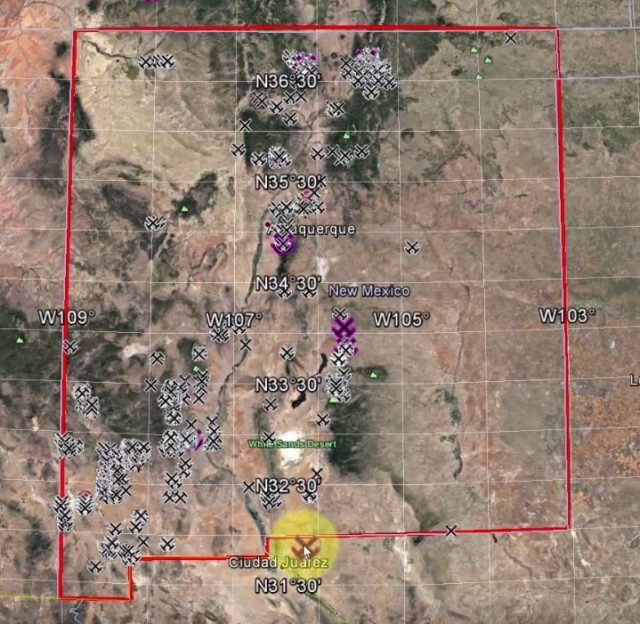 Where Is Gold Found In New Mexico? -